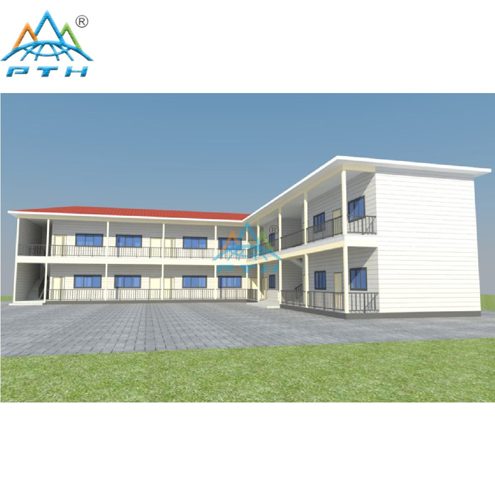 Economical Easy Build Pre-made Module Steel Structure School Building House