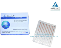 Disposable Sterile copper spiral acupuncture needles