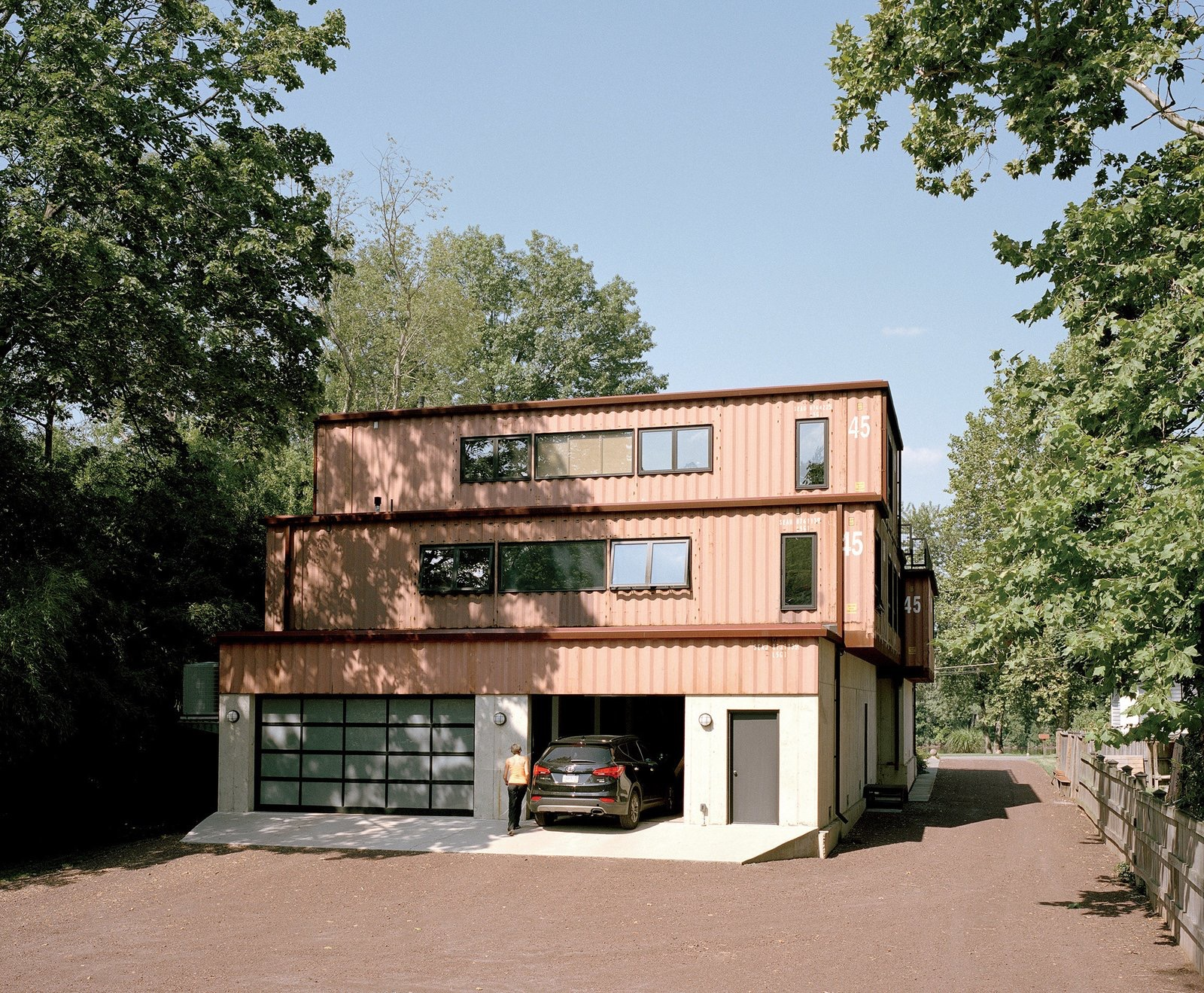 A couple retired make an mixed container housing
