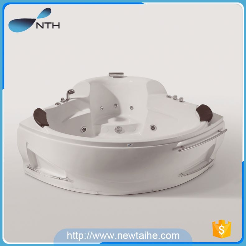 NTH volume production cheap CUPC white jet whirlpool luxury small ...