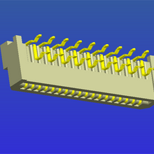 1.25mm间距B型弯针双面接FPC