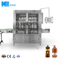 Flax Seeds Oil (viscosity) Filling Machine