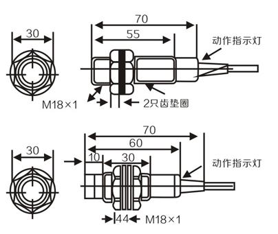 M18 proximity sensor