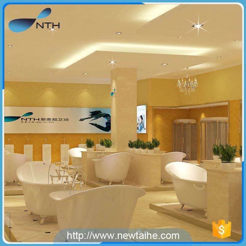 NTH volume production cheap CUPC corner white massage bathtub - Buy ...