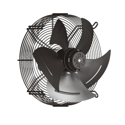 axial fan with external rotor motors