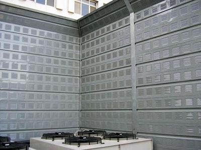冷却塔(空调机组)声屏障