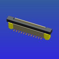 0.5mm间距全包立贴抽屉式FPC