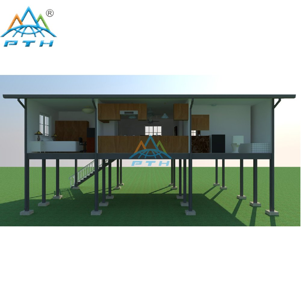 Luxury Prefab Light Steel Structure Villa Design