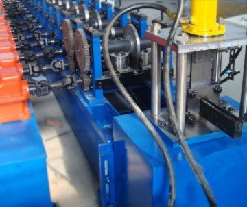 Door Slat Panel Roll Forming Machine