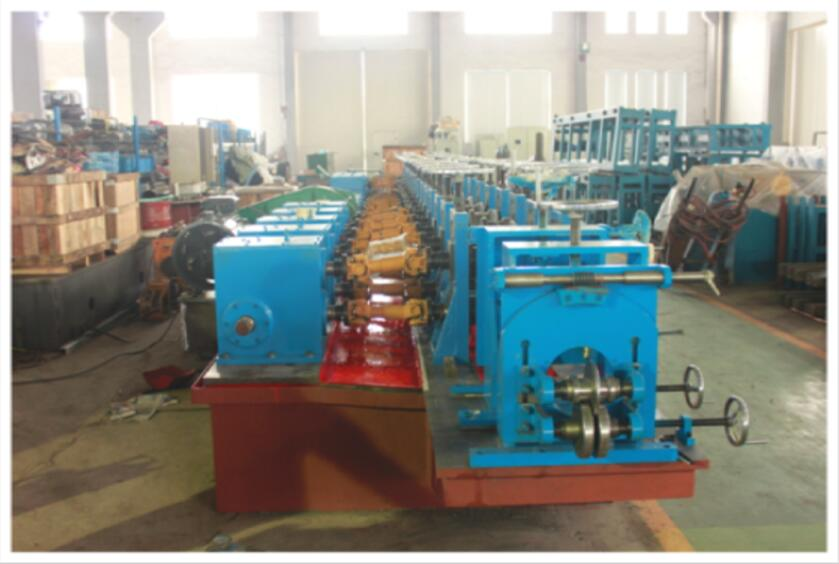 Check Standards of Quality Hollow Elevator Guide Forming Line