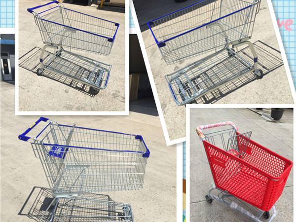 plastic shopping carts