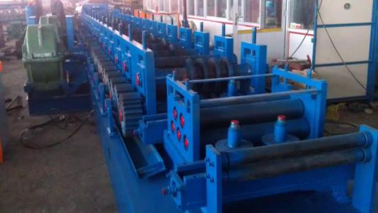 Photovoltaic Support Bracket Roll Forming line