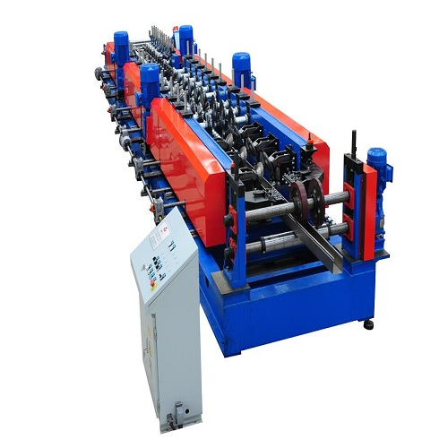 Storage Shelf Cold Roll Forming Line Introduction-Zhangyun Machinery