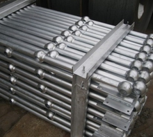 Hot Galvanized Railing Ball Joint Handrail and Stanchion