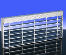 Steel Material Bar Grating Stair Tread E