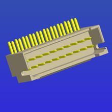 PH2.0mm间距单排加厚带扣弯针