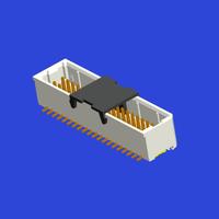 1.0mm间距SHD坐揭连接器