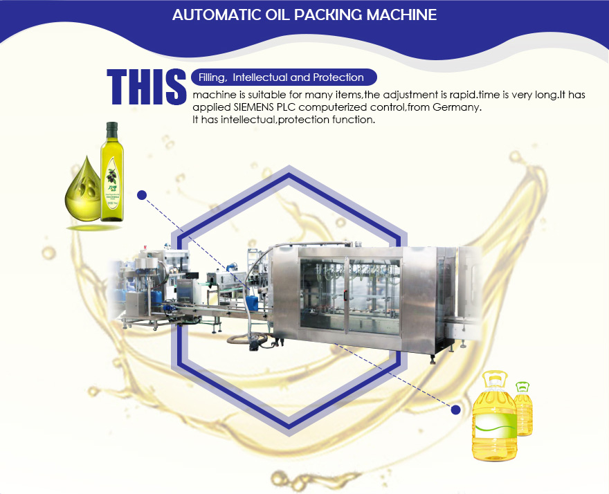 Kingmachine oil filling machine line