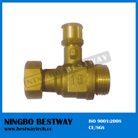 Hot Sale Brass Water Meter Ball Valve (BW-L14)