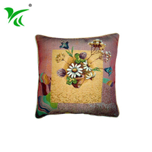 Alibaba suppliers custom best Jacquard woven covers cushion pillow