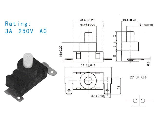 china electrical switches for vaccum sweeper electrical