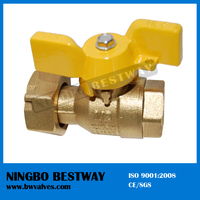 T handle Standard Port Brass Ball Valve with swivel nut (BW-B68)