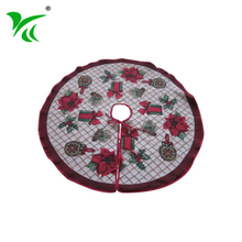 Wholesale New Designs Hot Sale personalized christmas tree skirts