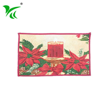 Wholesale custom factory price living room Jacquard woven floor mat