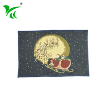 Alibaba suppliers custom best Jacquard woven floor mat protection