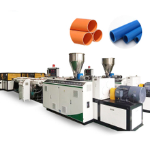 PVC Double Pipe Extrusion Line