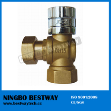 Brass Lockable Ball Valve with Magnetic Lock Cap (BW-L06)