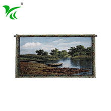 Hangzhou supplier wholesale home decoration wall hanging fabric