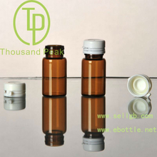 TP-2-06-2 6ml brown essential oil bottles with white tearing cap