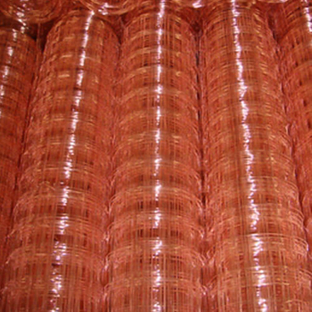 Copper Coated Welded Wire Mesh