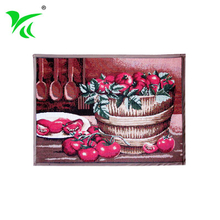 Custom outdoor Anti-Slip jacquard woven welcome floor mat price