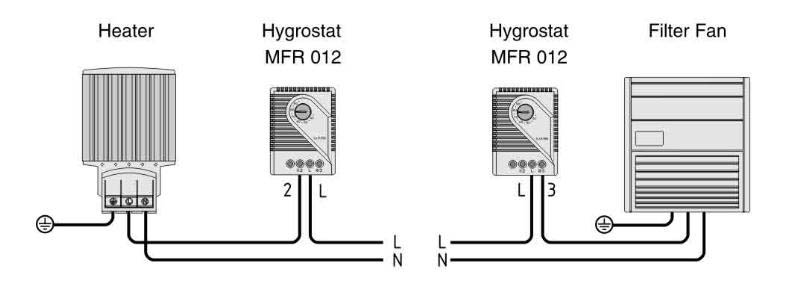 mechanical hygrostat mfr 012