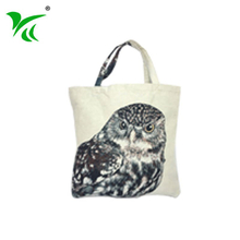 Chinese supplier custom cotton non plastic tote shopping bags