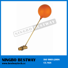 Forged Brass Floating Ball Valve with Plastic Ball (BW-F02)