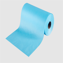colorful spunlace non woven fabric rolls for electronic wiper