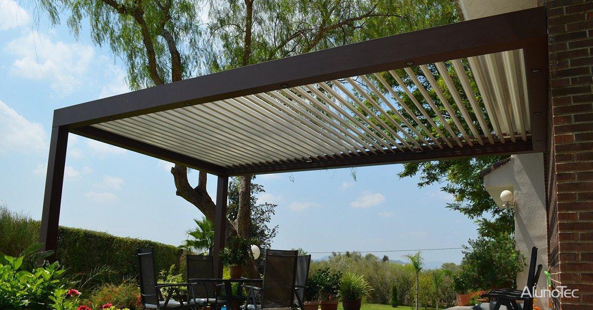 Convert Your Small Terrace With A Pergola Aluminum
