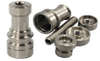 Fully Adjustable Domeless TITANIUM NAIL 10, 14&18mm Male and Female