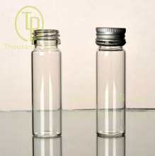 TP-4--03 15ml clear explosion proof mouth with aluminum