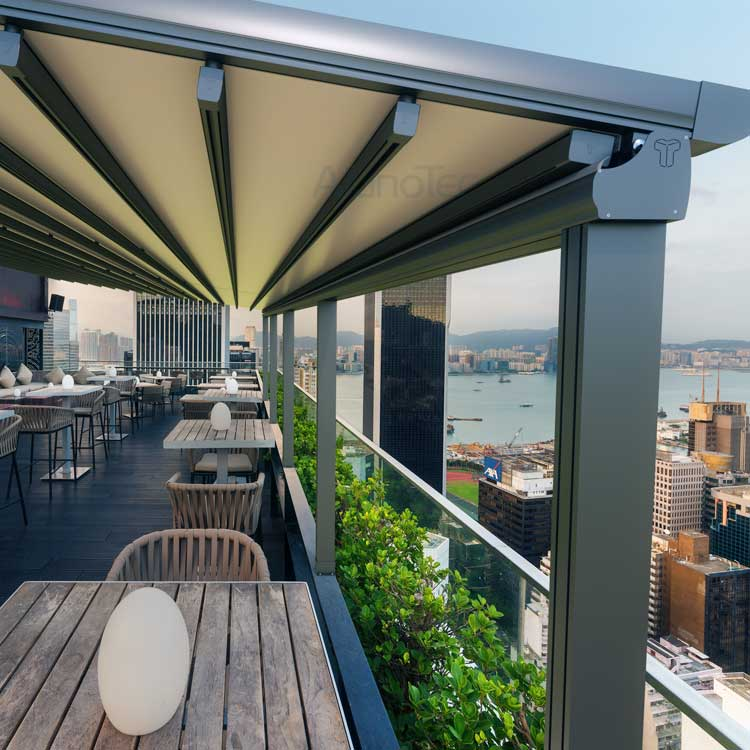 Outdoor Wind Resistance Waterproof Aluminium PVC ...
