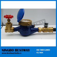 High Performance Water Meter with Valve with High Quality (BW-820)