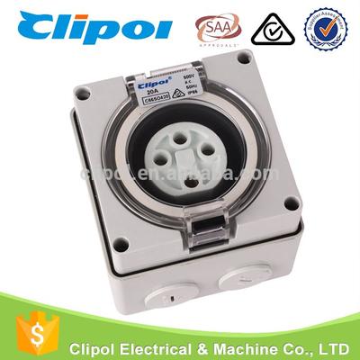 Outlet socket 4 pin 20 amp electrical outlet multiple socket for ...