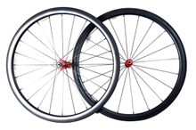 23MM WIDTH CARBON WHEELS 38MM RPOFILE, CLINCHER