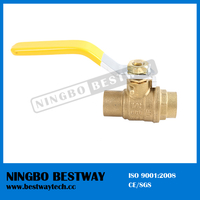 NSF approved competitive price welding ball valve (BW-LFB02E)