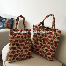 Manufacture Flower Style Foldable Shopping bag