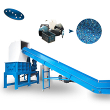 Four shaft shredder