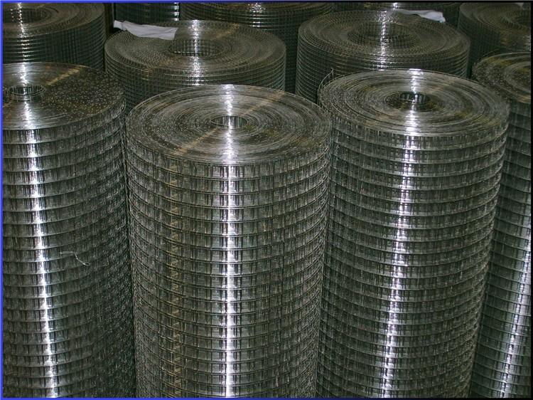 5x5 galvanized welded wire mesh panel (on sale)